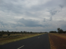 out on the plains just north of augathella