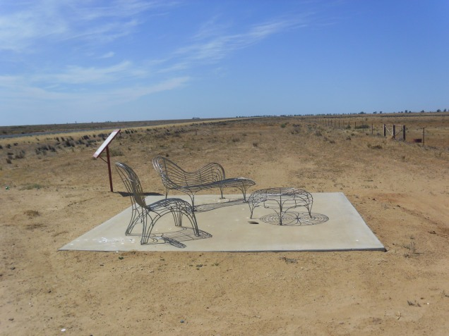 sunset viewing lounge in The Long Paddock