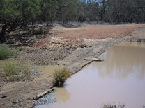 the original weir on paroo